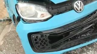 Пияна пешеходка блъсна кола в Бургас