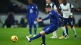 Тотнъм - Челси 0:1, гол на Жоржиньо от дузпа