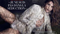 Летисия Каста дантелено гола за Vanity Fair