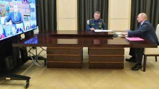 Путин срещу коронавируса: Трябва да сте подготвени за всеки сценарий