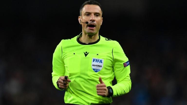 Славко Винчич, който ще ръководи плейофа за влизане в групите
