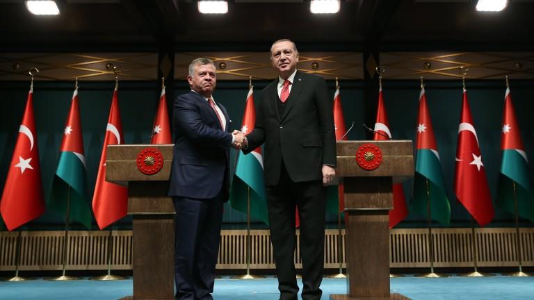 Йордания и Турция: Решението на Тръмп за Йерусалим е в полза само на терористите