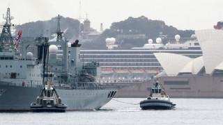 Три китайски военни кораба изненадаха австралийци в Сидни