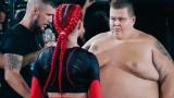 Как жена нокаутира 240-килограмов мъж