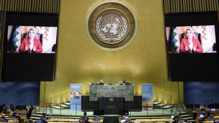Временният президент Жанин Аньес официално вече е вън от битката