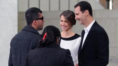Башар и Асма Асад с коронавирус