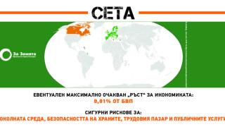 Бизнесът извива ръцете на правителствата чрез СЕТА