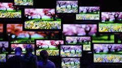 Развиващите се страни спасяват продажбите на телевизори