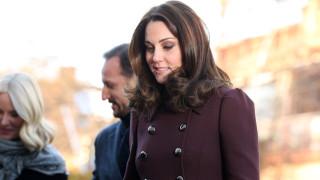 Защо Кейт Мидълтън е винаги с палто