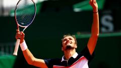 Даниил Медведев се намира във формата на живота си преди 1/2-финала с Григор Димитров