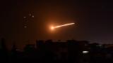 Израел удари сирийската армия от Голанските възвишения