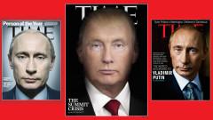 """""""Тайм"""" с провокативна илюстрация на преливащ Тръмп в Путин"""