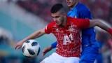 Футболистите на ЦСКА продължават да трупат картони