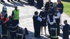 Засилват се критиките към Тереза Мей заради пожара в Лондон
