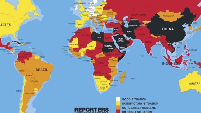 """За """"нова пропагандна ера"""" алармират от """"Репортери без граници"""""""