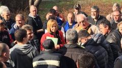 Мая Манолова води недоволни рибари от Шумен в МОСВ
