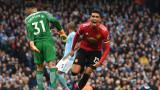 Манчестър Юнайтед постигна знаменит обрат от 0:2 до 3:2 срещу Манчестър Сити