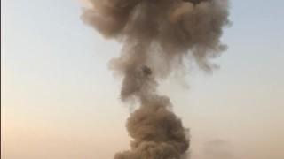 Ракетен обстрел по военен лагер доБагдад