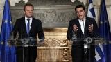 Ципрас зове Туск да убеди ЕС да осъди действията на Турция край Кипър