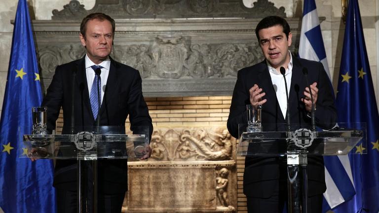 Премиерът на Гърция Алексис Ципрас е призовал председателя на Европейския
