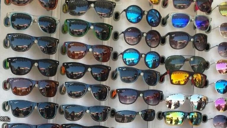 Слънчевите очила менте три пъти по-малко тази година