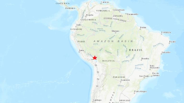 Земетресение от 7.1 по Рихтер разтърси Перу