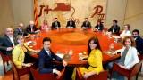 Новото сепаратистко правителство на Каталуния положи клетва