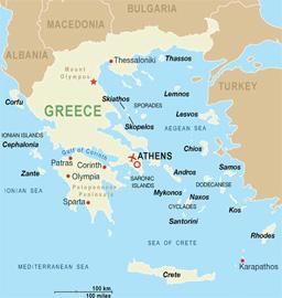 Земетресение 6 по Рихтер в Западна Гърция