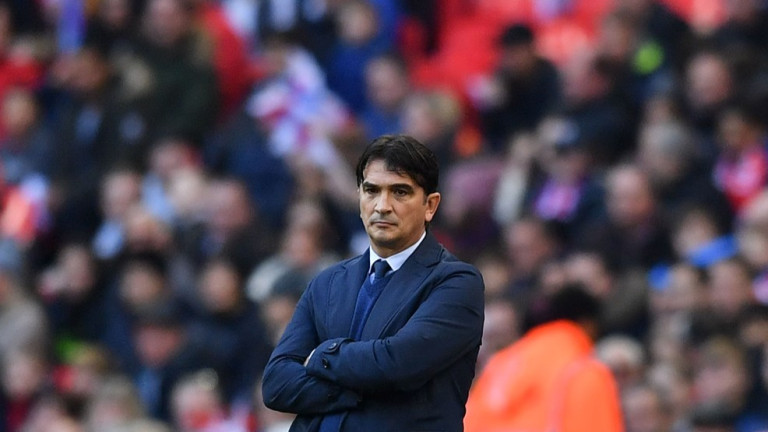 Селекционерът на хърватския национален отбор Златко Далич коментира загубата на