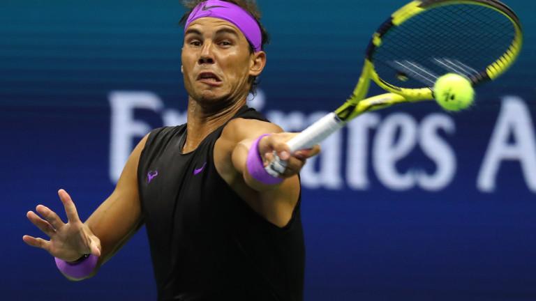 Рафаел Надал започна с рутинна победа US Open 2019