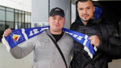 Божинов дебютира за Левски днес, взема №10