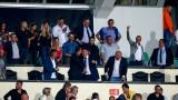 Министър Красен Кралев поздрави националите по футбол