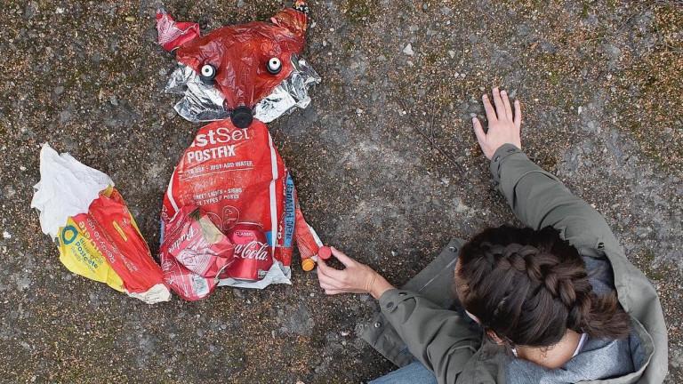 Снимка: Когато боклуците заживеят собствен живот