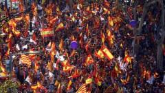 Над 1,1 млн. каталунци демонстрират за единна Испания