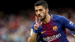 Луис Суарес на гол от това да стане пети най-добър реализатор в историята на Барселона