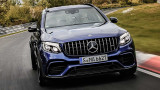 Mercedes GLC стана най-бързият кросоувър на Нюрбургринг (ВИДЕО)