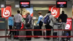 150 полета бяха отменени на летището във Франкфурт