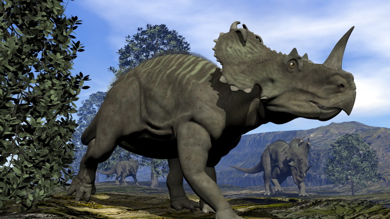 Динозаврите - първата жертва на рака