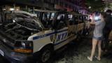 Полицейски камион гази протестиращи в Ню Йорк