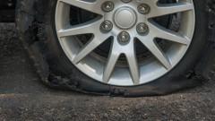 """Автомобили осъмнаха с нарязани гуми в столичния ж.к. """"Суха река"""""""