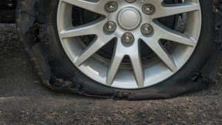 Срязаха гумите на пенсионер в Благоевград