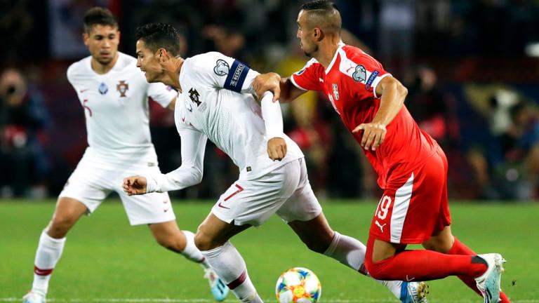 Кристиано Роналдо с повече голове за националния отбор от всички свои съотборници