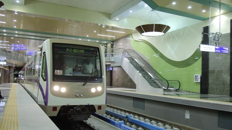 """От сряда пускат новата станция на метрото до квартал """"Хладилника"""""""