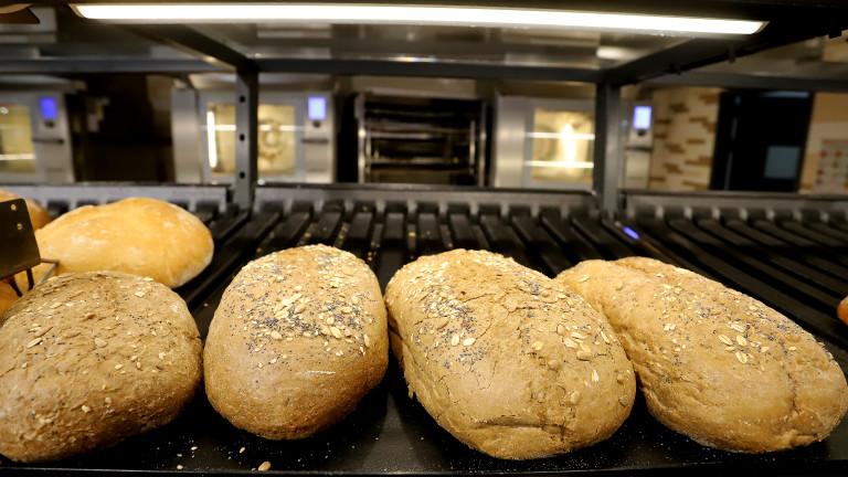 Цената на хляба се е вдигнала с около 10 стотинки
