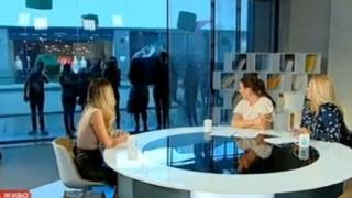 Фенове на Гери-Никол й направиха обсада по време на интервю (СНИМКИ)