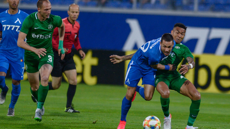 Левски - Лудогорец 0:1, гол на Каули