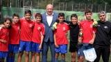 """Министър Кралев връчи купата на """"Софийска вода"""" на традиционния детски футболен турнир"""