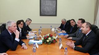 Не приемаме задълбочаване на различията в ЕС, подчерта Радев
