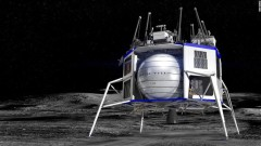 "Джеф Безос показа лунния модул ""Blue Moon"""