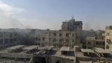 35-ма болни са евакуирани от предградие на Дамаск